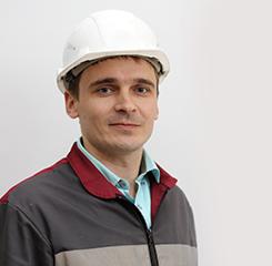Вячеслав Казачек, главный электрик